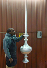 Decorative Finials and Terminal Lightning Protection Products