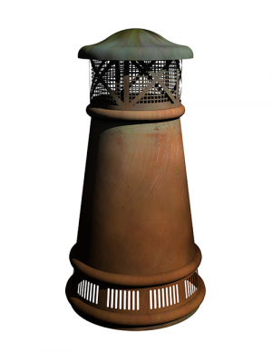 European Copper Chimney Pots  