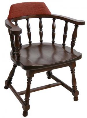 Chair:Captain, Hardwood - Eustis Chair