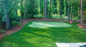 Backyard Putting Greens - IntelliTurf   Synthetic Grass, Artificial Turf Install Boston, New England