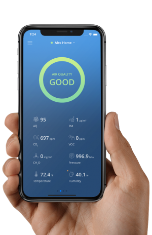 Airthinx App| Indoor Air Quality