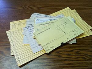 Index Card Size Document