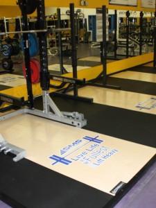 Weight Lifting Platform : Edgewood Athletics