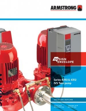Design Envelope 4312 Twin Pumps | Armstrong Fluid Technology