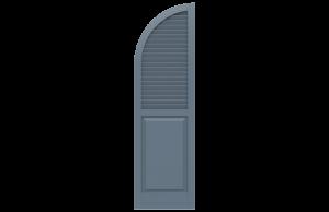 Classic Series — New Horizon Shutters | Custom Exterior Shutters
