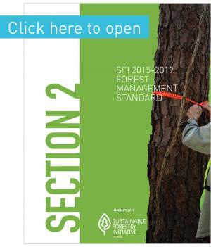 Forest Management Standard - SFI