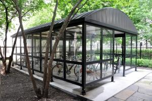 Custom Bike Shelters – Covered, Enclosed, Outdoor Bike Shelter