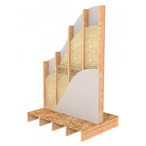 Single Wood Stud Interior Wall Insulation | ROCKWOOL