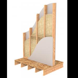 Single Wood Stud Interior Wall Insulation   ROCKWOOL
