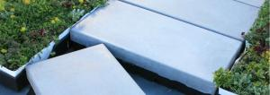 RoofStone Integrated Pavers | LiveRoof Hybrid Green Roofs