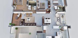 Architectural Floor Plan Renderings | 3D Floor Plan Austin, Texas