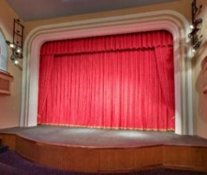 Sunrise Theater Mainstage Curtain