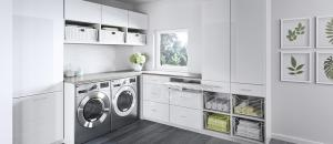 Laundry Room Cabinets & Storage