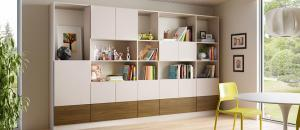 Family Room Storage - Living Room Design Ideas by California Closets