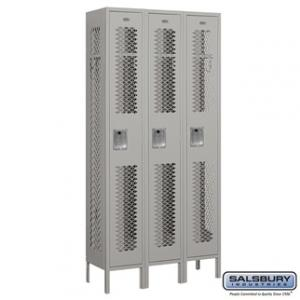 "Vented - 12"" W Lockers - Single Tier"