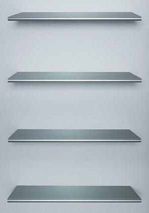 Wood Shelves and Fixed Floating Shelves | Rakks Shelving