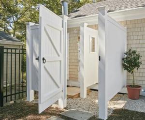 Custom Outdoor Shower Enclosures | Walpole Outdoors