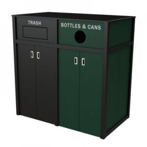 Custom Recycling Bins and Containers | CleanRiver Recycling Solutions