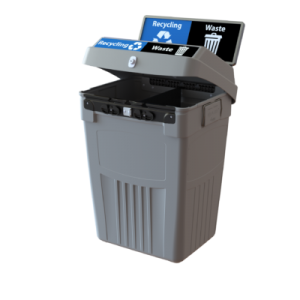 Indoor Recycling Bins and Containers | CleanRiver Recycling Solutions