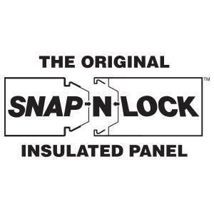 Steel Snap-N-Lock™ Structural Insulated Panels