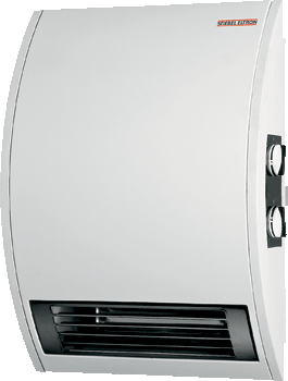 Wall-Mounted Electric Fan Heaters