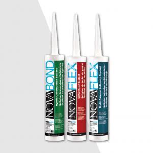 NovaFlex Construction Silicone Colored Caulk | Window Siding Silicone Sealant Manufacturer