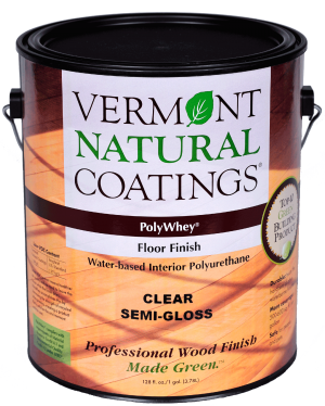 Polywhey Floor Finish Interior | nonToxic | Vermont Natural Coatings