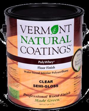 Polywhey Floor Finish Interior | nonToxic | Vermont Natural Coatings
