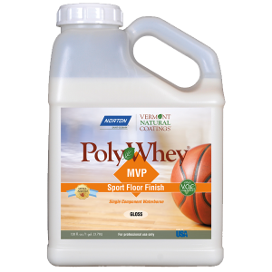 MVP Sport Floor Finish Polywhey | nonToxic | Vermont Natural Coatings
