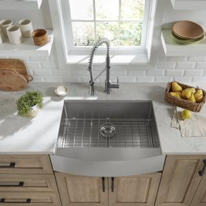 Pekoe 30x22-inch Stainless Steel Apron Sink | American Standard