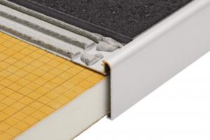 Schluter®-RONDEC-STEP | Cover the Sub-Assembly | For Stairs | Profiles | schluter.com