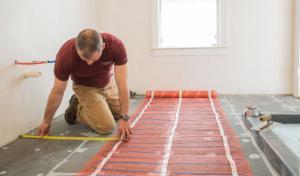 Heated Floor Mat | Electric Floor Heating Mat | Warmup