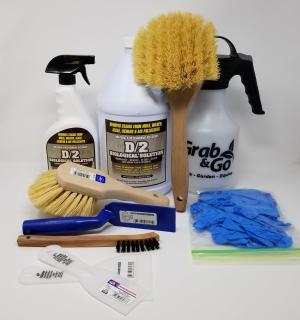 D/2 Stone Cleaning Set | Atlas Preservation