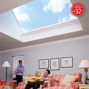SkyMax - Large Flat Glass Unit Skylight