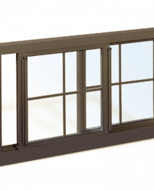 Series 5600 Heavy Commercial / Architectural Aluminum Thermal-Break Sliding Windows