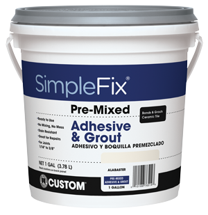 SimpleFix - Pre-Mixed Grout | Custom Building Products