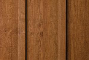 Genuine wood siding