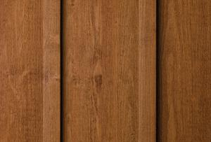 Genuine wood siding