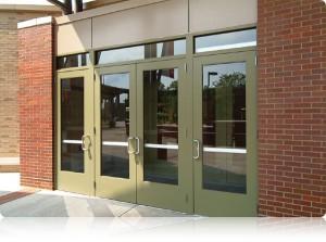 Aluminum Doors, Entrances, Framing, and Windows