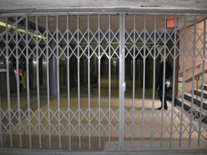 Subway Security Folding Gates from ACORN Wire & Iron Works