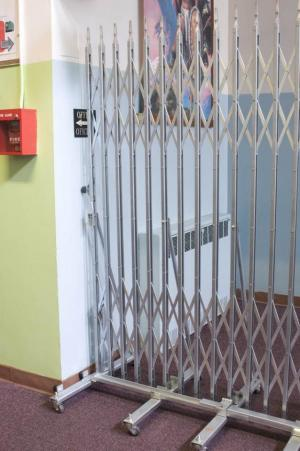 BARRIER AND AISLE GATES | ACORN Wire & Iron Works