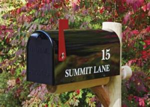 Mailboxes - Post and Side Mount | Walpole Woodworkers