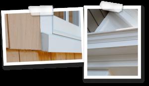 PVC Mouldings | Exterior Moulding Profiles