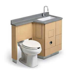 MODEL LC800  Lavatory, Fixed Water Closet Comby - Bradley Corp - Products