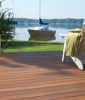Mahogany Decking Cape Cod Boston CT RI