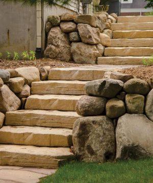 Manufactured Stone Steps, Treads - Cape Cod MA RI