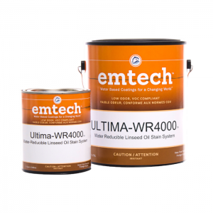 EMTECH WR4000 Ultima WB Stain System - Target Coatings