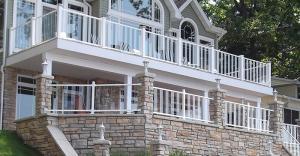 Pure View Glass Railing - Fortress Railing