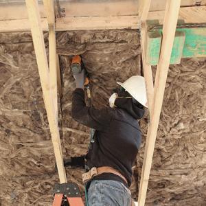 Knauf EcoBatt Integrated Roof Deck (IRD) Insulation with ECOSE Technology