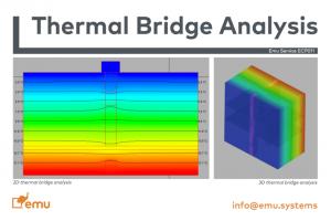 Thermal Bridge Analysis – Emu Systems